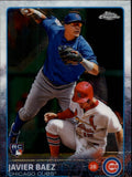 2015 Topps Chrome Javier Baez Rookie Card Chicago Cubs