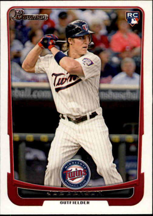 2012 Bowman Joe Benson Rookie Card Minnesota Twins