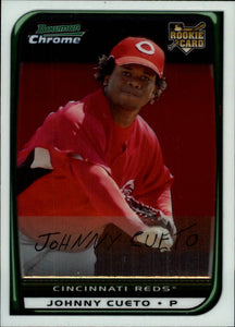 2008 Bowman Chrome Johnny Cueto Rookie Card Cincinnati Reds