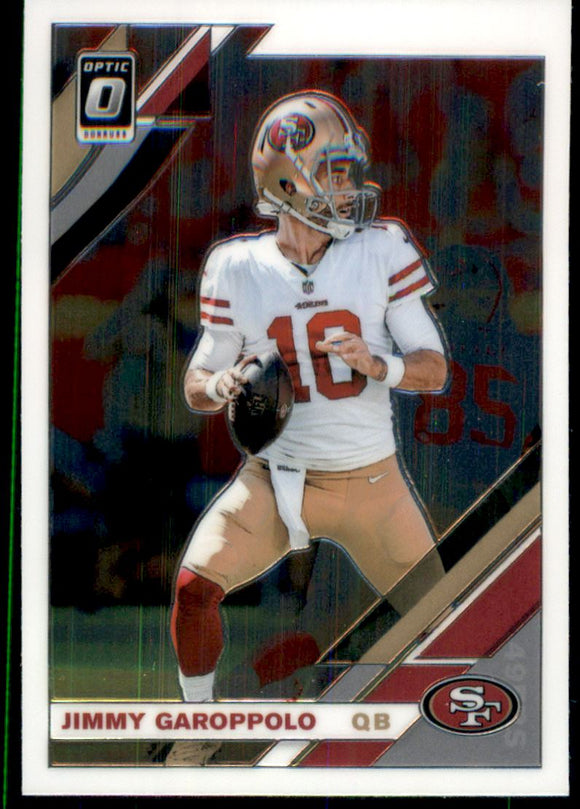 2019 Donruss Optic Jimmy Garoppolo San Francisco 49ers