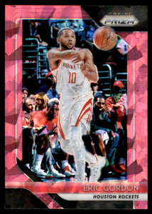 2018-19 Panini Prizm Prizms Pink Ice Eric Gordon Houston Rockets