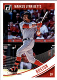 2018 Donruss Name Variations Mookie Betts/Markus Lynn Betts Boston Red Sox