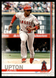 2019 Topps Justin Upton Los Angeles Angels