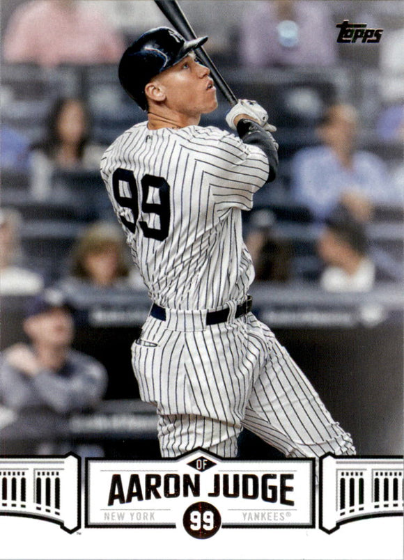 2018 Topps Aaron Judge Highlights New York Yankees