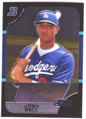 2005 Bowman Chrome Draft Josh Bell First Year Los Angeles Dodgers