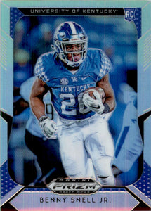 2019 Panini Prizm Draft Picks Prizms Silver Benny Snell Jr Pittsburgh Steelers