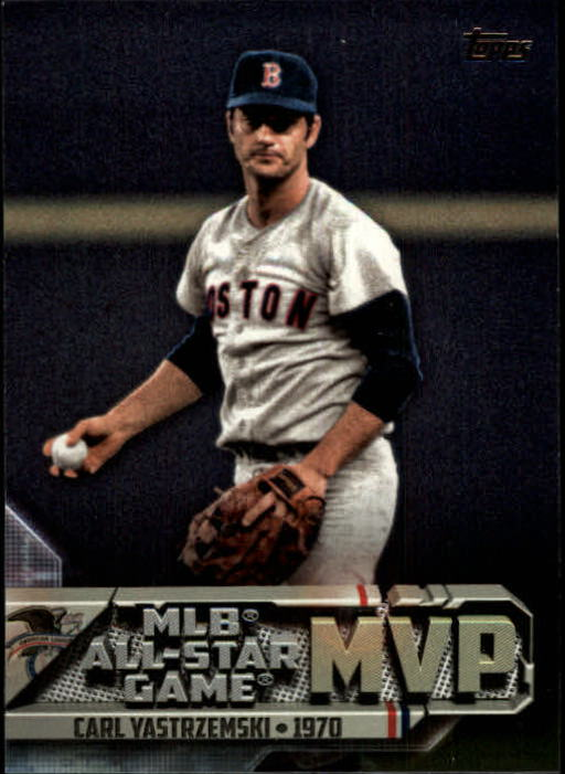 2017 Topps All Star Game MVP'S Carl Yastrzemski Boston Red Soxs