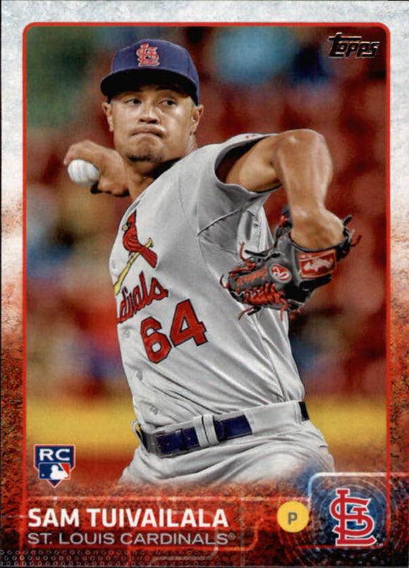 2015 Topps Sam Tuivailala Rookie Card St Louis Cardinals