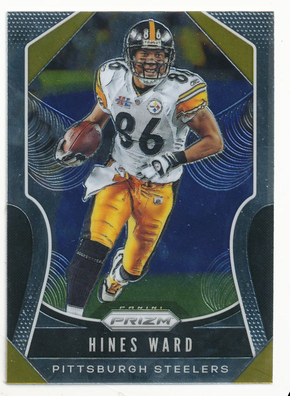 2019 Panini Prizm Base Hines Ward Pittsburgh Steelers