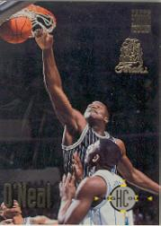 1993-94 Stadium Club Super Teams NBA Finals Shaquille O Neal Orlando Magic