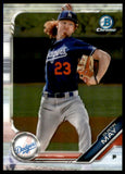 2019 Bowman Chrome Prospects Dustin May Los Angeles Dodgers