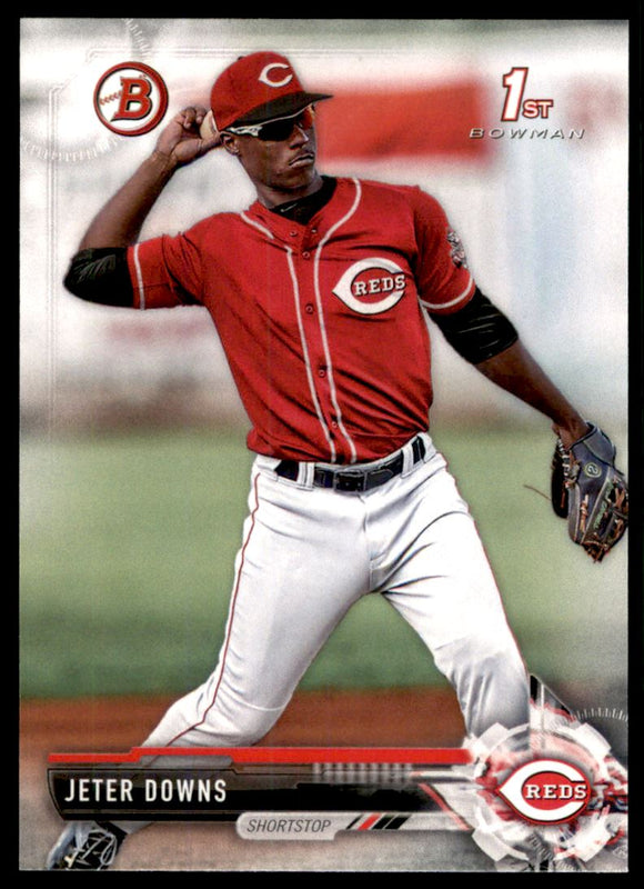 2017 Bowman Draft Jeter Downs Cincinnati Reds