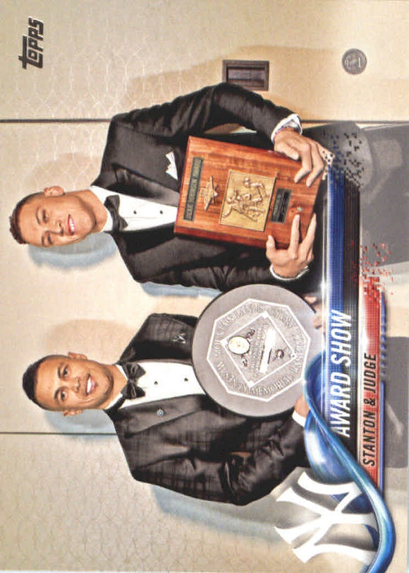 2018 Topps Giancarlo Stanton/Aaron Judge/Award Show From Factory Sealed Set New York Yankees