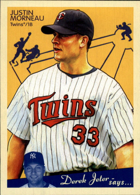 2008 Upper Deck Goudey Justin Morneau Minnesota Twins