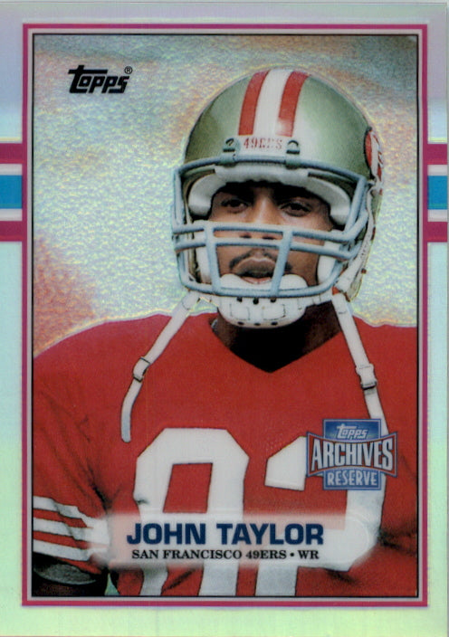 2001 Topps Archives Reserve Reprint 89 John Taylor San Francisco 49ers