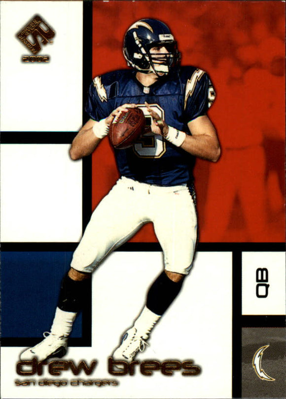 2002 Private Stock Drew Brees San Diego Chargers