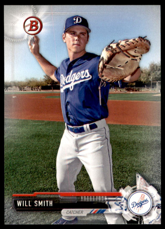 2017 Bowman Draft Will Smith Los Angeles Dodgers