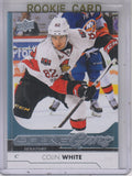 2017-18 Upper Deck Young Guns Rookie Card Colin White Ottawa Senators