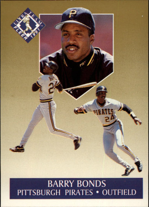 1991 Fleer Ultra Gold Barry Bonds San Francisco Giants