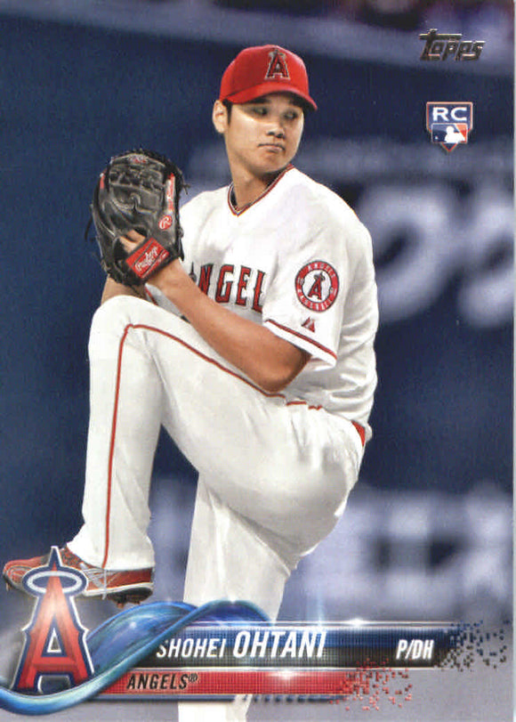 2018 Topps Shohei Ohtani Rookie Card Los Angeles Angels