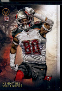 2015 Topps Valor Kenny Bell Rookie Card Tampa Bay Buccaneers