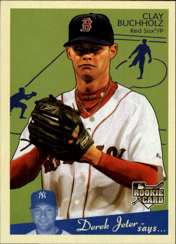 2008 Upper Deck Goudey Clay Buchholz Rookie Card Boston Red Sox