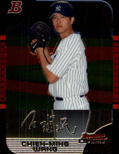 2005 Bowman Chrome Draft Chien-Ming Wang New York Yankees