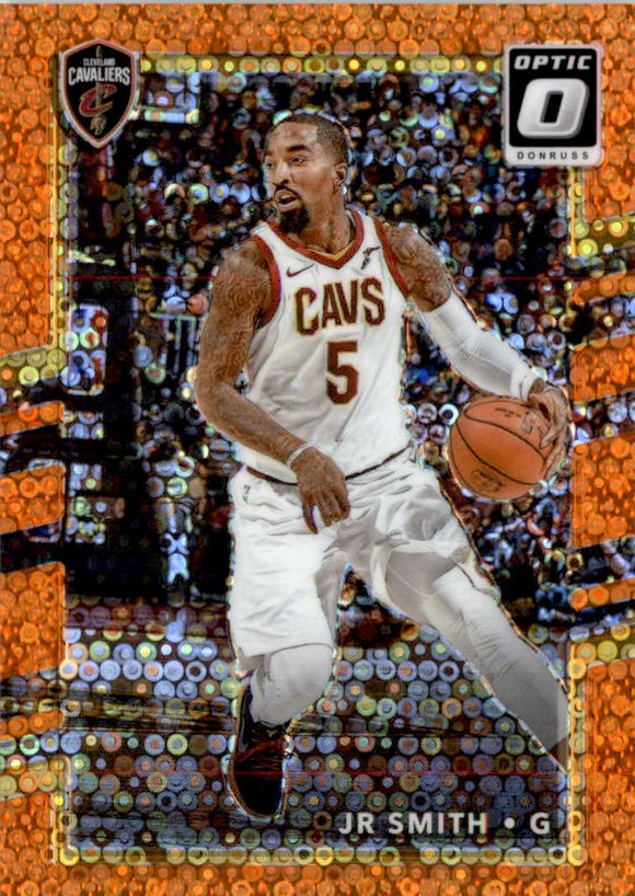2017-18 Donruss Optic Fast Break Orange /193 J.R. JR Smith Cleveland Cavaliers