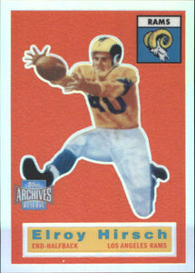 2001 Topps Archives Reserve Reprint 56 Elroy Hirsch Los Angeles Rams