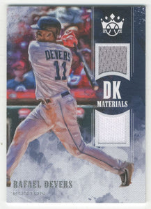 2018 Diamond Kings DK Materials Rafael Devers Boston Red Sox
