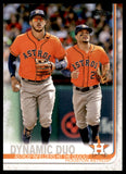 2019 Topps Dynamic Duo Carlos Correa/Jose Altuve Houston Astros