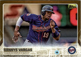 2015 Topps Gold /2015 Kennys Vargas Minnesota Twins