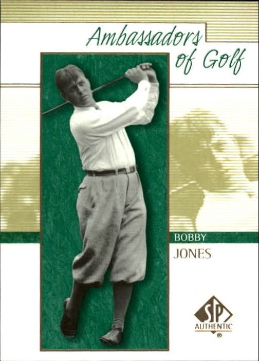 2001 SP Authentic Bobby Jones Ambassadors Of Golf