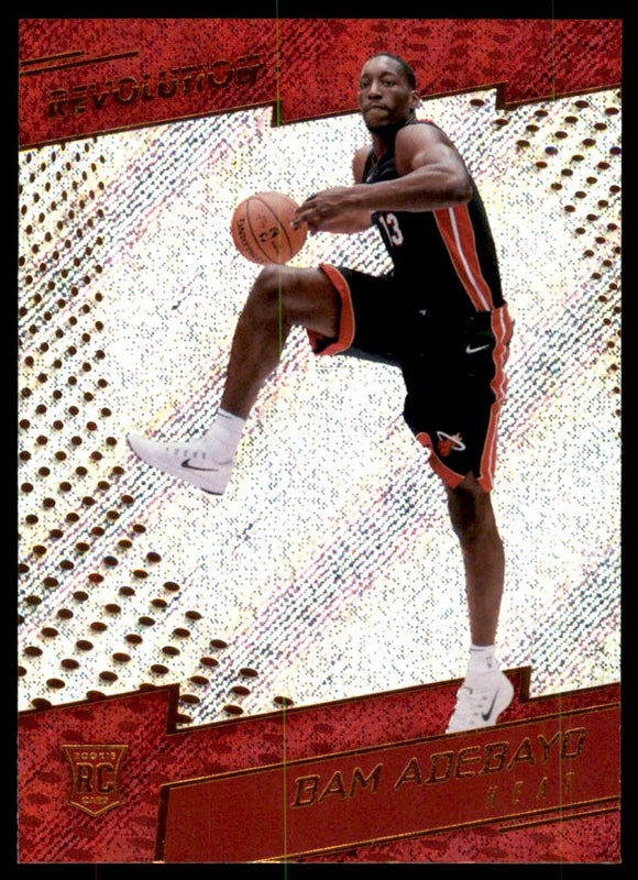 2017-18 Panini Revolution Bam Adebayo Rookie Card Miami Heat