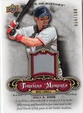 2009 Upper Deck Mike Lowell Timeless Moments Red Jersey Card /180 Boston Red Sox - JM Collectibles