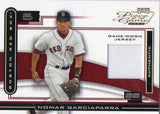 2003 Playoff Piece Of The Game Nomar Garciaparra Game Worn Jersey Boston Red Sox - JM Collectibles