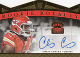 2015 Crown Royale Gold Chris Conley Rookie Autograph Card /99 Kansas City Chiefs - JM Collectibles