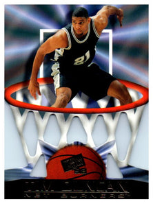 1998 Press Pass Net Burners Tim Duncan Rookie Card San Antonio Spurs - JM Collectibles