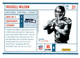 2012 Panini Passport Russell Wilson Rookie Card Seattle Seahawks - JM Collectibles