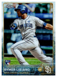 2015 Topps Chrome Rymer Liriano Rookie Card San Diego Padres - JM Collectibles