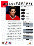 1997-98 Be A Player Gary Roberts Autograph Card Carolina Hurricanes - JM Collectibles