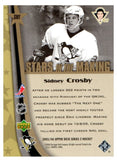 2005-06 Upper Deck Sidney Crosby Stars In The Making Pittsburgh Penguins Rookie - JM Collectibles