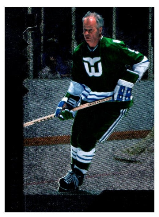 2009-10 Upper Deck Black Diamond Quad Gordie Howe Hartford Whalers - JM Collectibles
