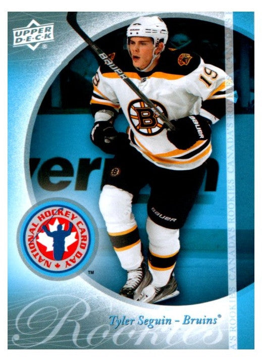 2011 Upper Deck National Hockey Card Day Tyler Seguin Rookie Card Boston Bruins - JM Collectibles