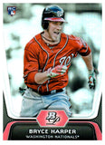 2012 Bowman Platinum Bryce Harper Rookie Card Washington Nationals - JM Collectibles