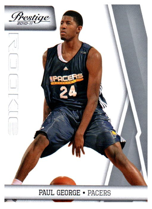 2010-11 Prestige Paul George Rookie Card Indiana Pacers - JM Collectibles