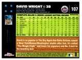 2007 Bowman Chrome David Wright White Refractor #D/660 New York Mets - JM Collectibles