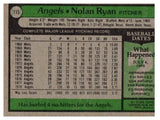 1979 Topps Nolan Ryan California Angels - JM Collectibles