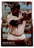 2015 Topps Chrome David Ortiz Sepia Refractor Card Boston Red Sox - JM Collectibles