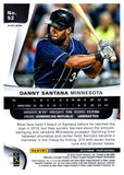 2015 Panini Prizm Danny Santana Purple Flash #D/99 Minnesota Twins - JM Collectibles